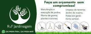 Jardineiro em Petrópolis R&F Jardinagem